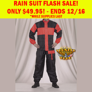 Motorcycle Rain Suit Flash Sale