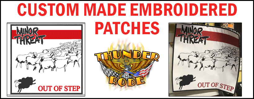 Custom Made Embroidered Patches Kingman AZ