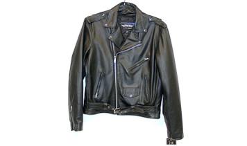 UNIK Black Leather Jacket
