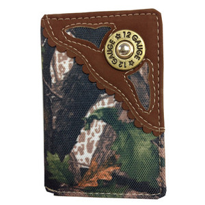 Camo Bullet Trifold Wallet