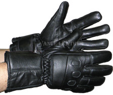 Insulated Gauntlet Gloves W/Padded Knuckles