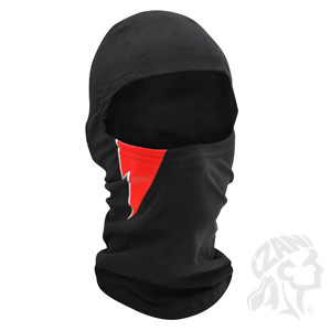 Balaclava Red Bolt