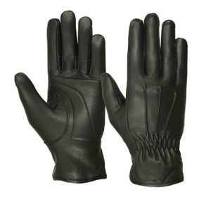 LADIES WATERPROOF DEERSKIN 3 SEAM PADDED PALM GLOVES