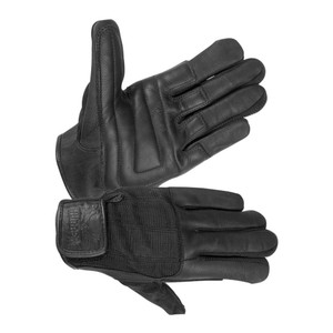 MEN'S UNLINED TECHNALINE LEATHER, SUMMER TOURING GLOVES WITH PADDED PALM, WATERPROOF, BREATHABLE