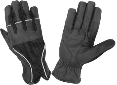 Air Mesh Comfort Motorcycle Safety Glove give all the protection you need while riding. Helping to protect and cool on your long trips, they even have reflective surfaces for additional nighttime safety.