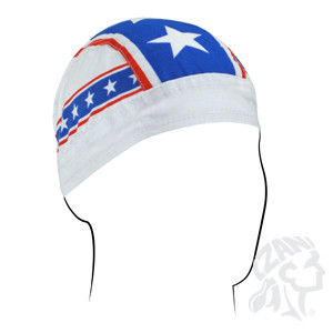 This awesome Do Rag/Skull Cap creates a moisture barrier to help keep sweat away from you eyes.