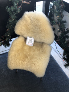 Motorcycle Seat SheepSkins Cover.  Free Care Kit Included.