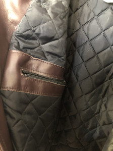 Bristol Leather Montreal, Canada Aviator jacket with quilted lining