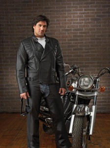 Bristol Leather Montreal, Canada Aviator jacket  vented with zippered sleeves