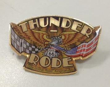 PINS - Thunder-Rode/Route 66
