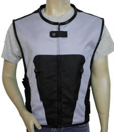 Gray Textile Tactical Vest