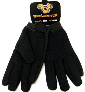 Mechanic glove with heavy duty suede palm