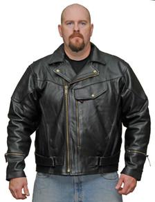 Pistol Pete Jacket Milled Leather