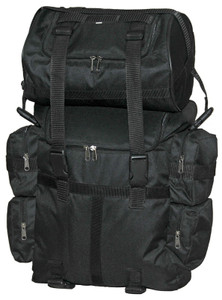 This is an AMAZING soft pack sissy bar back pack bag - great for long trips - folds up for EZ storage.