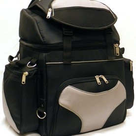 Deluxe Grey Touring Bag