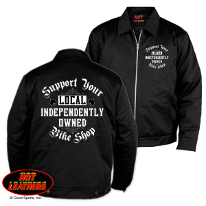 Support Your Local Bike Shop Mechanic Jacket