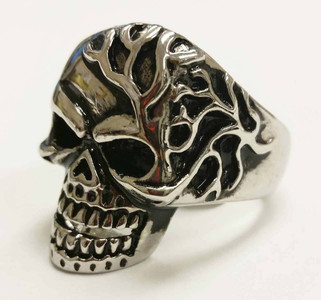 Men's Mad Man Skull Ring
