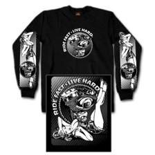Motor Pinup Long Sleeve Shirt
