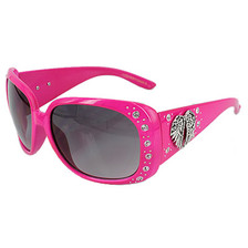 Pink Wing Sunglasses