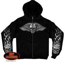 Black Skull Sweat Shirt