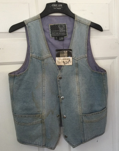 Light Blue V-Neck Vest