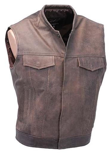 Brown Vest
