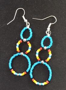 Navajo Bead Earrings