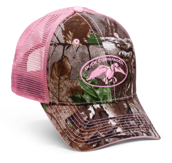 9f4b2e818aee07 Realtree AP Camo front panels and bill with pink, embroidered full DC logo.  Pink. Loading zoom. Realtree AP Camo ...