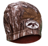 Camo & Brown Reversible Beanie  80% cotton 20% acrylic Reversible: Brown/Realtree Xtra Camo One size fits most Embroidered Duck Commander logo