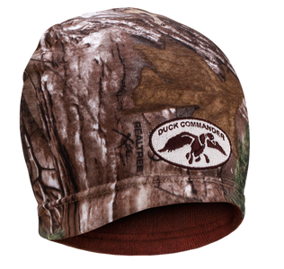 Camo and Brown Duck Commander Beanie (Reversible)
