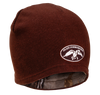 Brown with Camo Reversible Beanie  80% cotton 20% acrylic Reversible: Brown/Realtree Xtra Camo One size fits most Embroidered Duck Commander logo