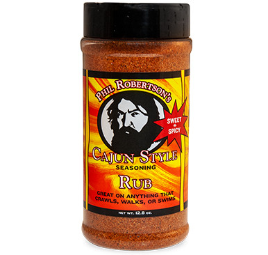 Phil Robertson's New and Improved Cajun Style Seasoning Rub
