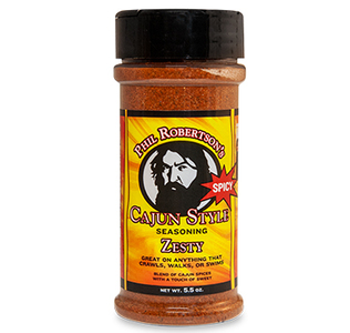 Phil Robertson's Zesty Duck Commander Seasoning, Spicy Seasoning