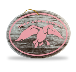 Duck Commander Pink Logo Christmas Tree Ornament