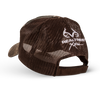 brown, mesh back and velcro closure with Realtree® Xtra logo embroidered in white on the back.