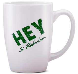 Hey 12 oz Latte Mug