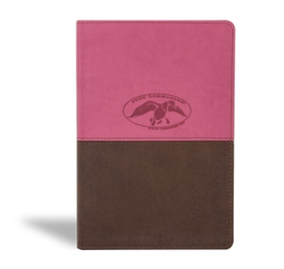 Duck Commander Faith and Family Bible includes the full text of the New King James Version Bible, a personal welcome note from Phil and Al Robertson, and 125 articles on the top 24 most-searched topics on BibleGateway.