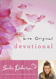 Live Original Devotional Hardcover Book