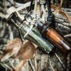 Polycarbonate, short barrel duck call dipped in Realtree Original camo.