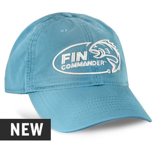 Fin Commander Aqua Blue Hat