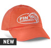Coral Cotton Twill hat Unstructured low profile fit Full top-stitching, self-fabric sweatband and taping Premium hi-density visor board Adjustable fabric strap with antique brass slide buckle