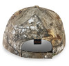 Realtree Edge 6 panel hat with velcro closure.