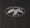 Duck Commander logo screen printed in white on the front.