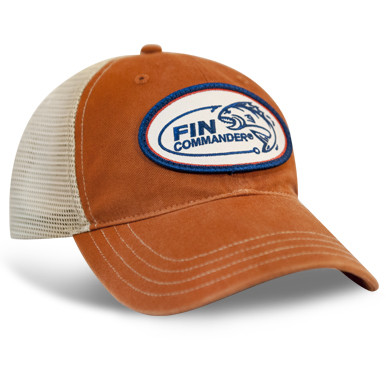 Fin Commander Orange Hat