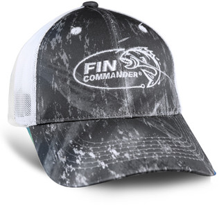 c672735645c8c Color  Realtree™ Fishing Grey Fin Commander logo embroidered on front  Realtree™ Fishing logo