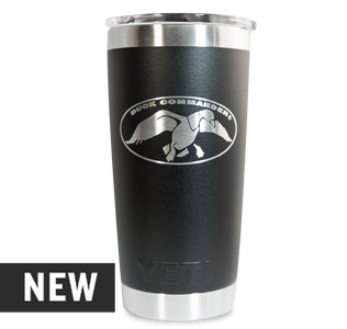 Duck Commander 20oz Black Yeti Rambler
