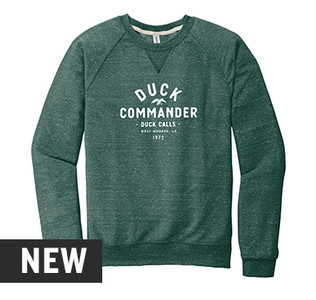 Duck Commander Vintage Words Pullover