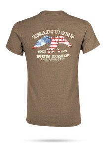 Heather Brown Traditions Tee