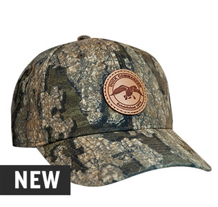 Duck Commander Realtree Timber Leather Circle Patch Hat