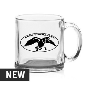 Duck Commander Clear 13 oz. Glass Mug